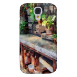 Greenhouse with Flowerpots Galaxy S4 Covers