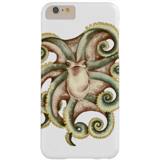 Greenish octopus barely there iPhone 6 plus case