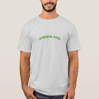 Greenland Arch Text T-Shirt
