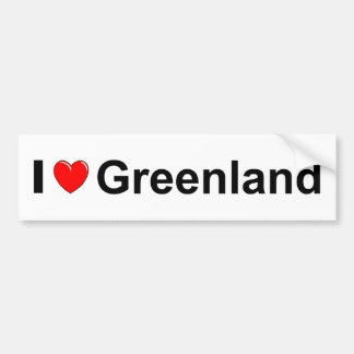 Greenland Bumper Sticker