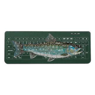 Greenland Char Fishing, Ichthyology Wireless Keyboard
