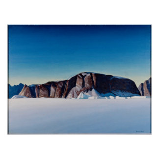 Greenland Coast Poster