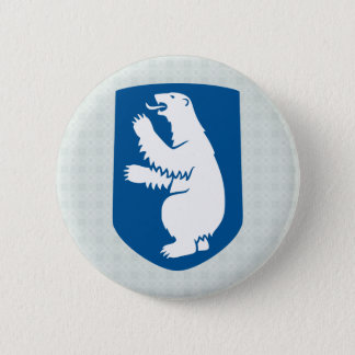 Greenland Coat of Arms detail 2 Inch Round Button