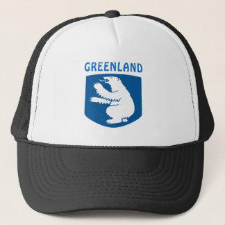 Greenland Coat Of Arms Trucker Hat
