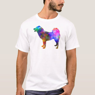 Greenland Dog in watercolor T-Shirt