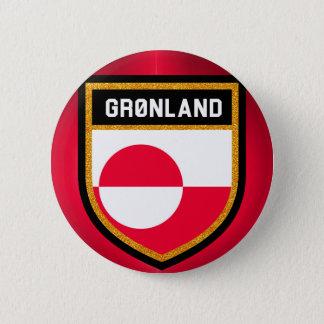 Greenland Flag 2 Inch Round Button