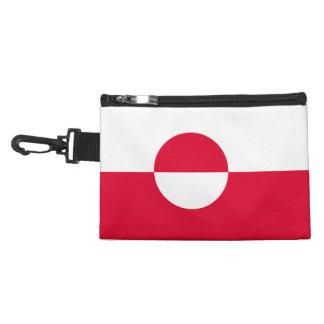 Greenland Flag Accessory Bag