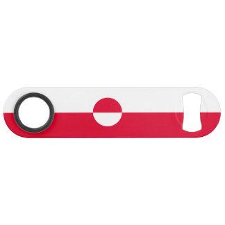 Greenland Flag Bar Key