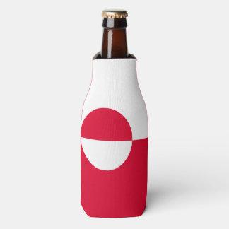 Greenland Flag Bottle Cooler