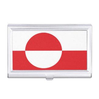 Greenland Flag Business Card Holder