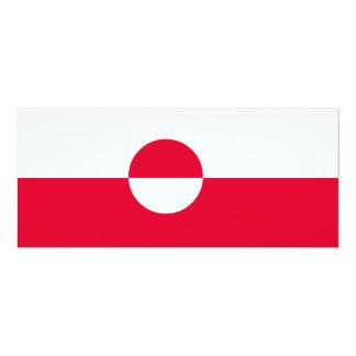 Greenland Flag Card