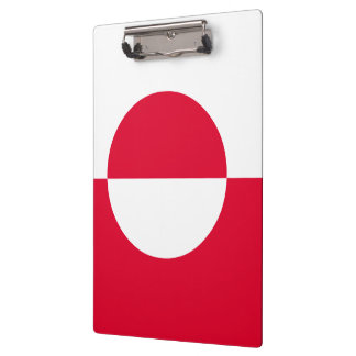 Greenland Flag Clipboard