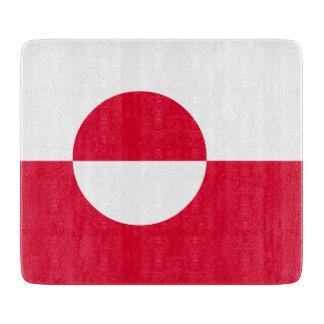 Greenland Flag Cutting Board