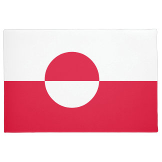 Greenland Flag Doormat