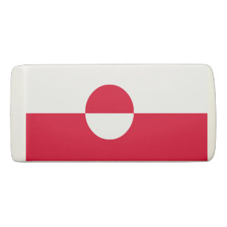 Greenland Flag Eraser