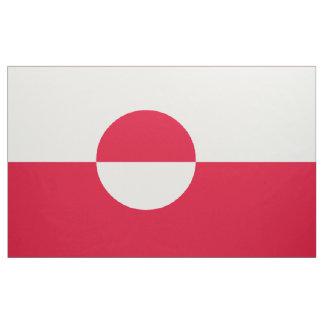 Greenland Flag Fabric