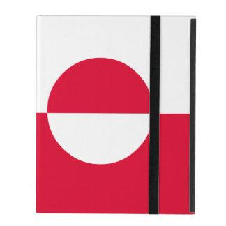Greenland Flag iPad Case