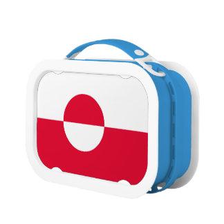 Greenland Flag Lunch Box