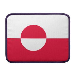 Greenland Flag MacBook Sleeve
