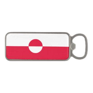 Greenland Flag Magnetic Bottle Opener
