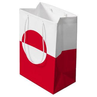 Greenland Flag Medium Gift Bag
