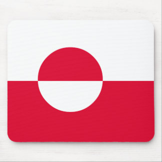 Greenland Flag Mouse Pad