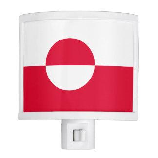 Greenland Flag Nite Lights