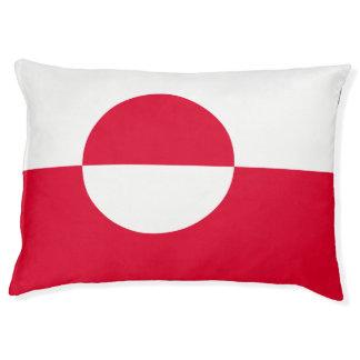 Greenland Flag Pet Bed