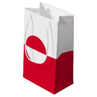 Greenland Flag Small Gift Bag