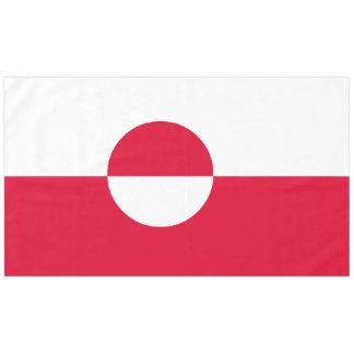 Greenland Flag Tablecloth