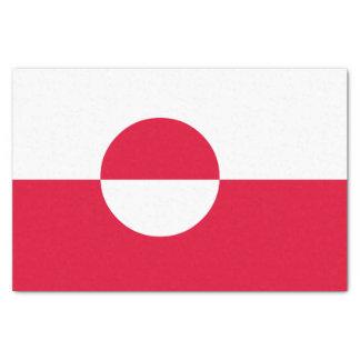 Greenland Flag Tissue Paper