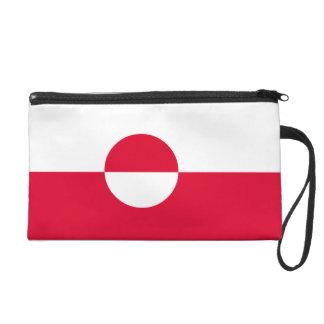 Greenland Flag Wristlet