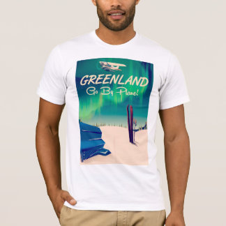 Greenland 'Go By Plane!' T-Shirt
