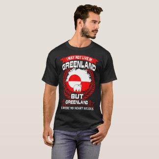 Greenland Is Where My Heart Belongs Tshirt