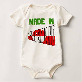 Greenland MADE  IN Baby Bodysuit
