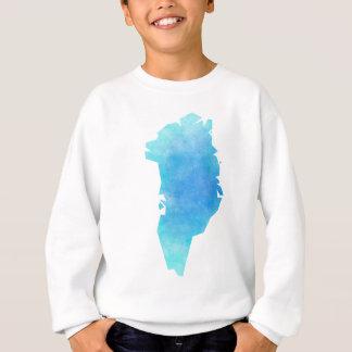 Greenland Map Sweatshirt