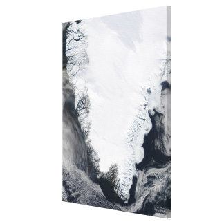 Greenland Stretched Canvas Print