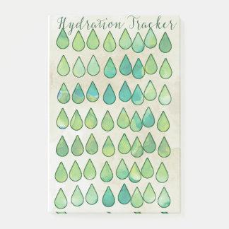 Greenleaf Hydration Tracker Post-it Notes