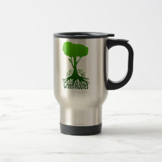 GreenRoutes Logo Travel Mug