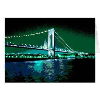 Greens & Blues Bridge card