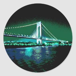 Greens & Blues Bridge sticker