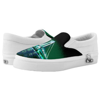 Greens & Blues Bridge Z slipons Slip-On Sneakers