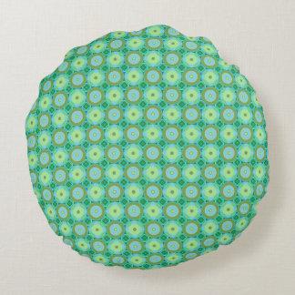 Greens  - round Pillow (13)