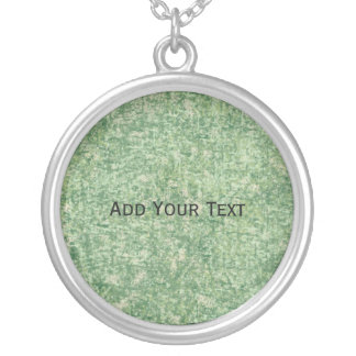 Greens Textured by Shirley Taylor Silver Plated Necklace