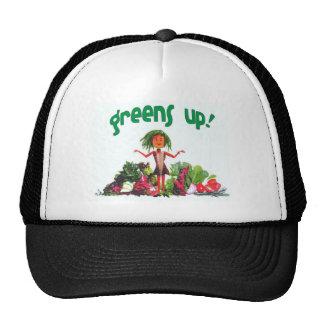 Greens Up! hipster trucker hat