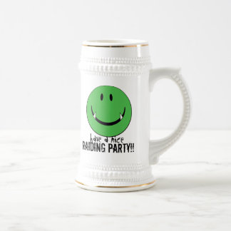 greensmiley beer stein
