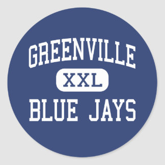 Greenville - Blue Jays - Junior - Greenville Round Sticker