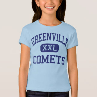 Greenville - Comets - High - Greenville Illinois T-Shirt