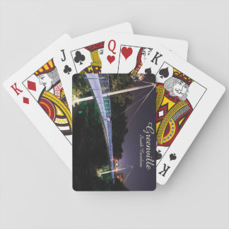 Greenville, SC playing cards