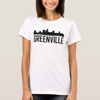 Greenville South Carolina City Skyline T-Shirt